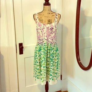 Anthropology Maeve Size 8 garden dress.